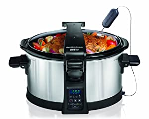 Hamilton Beach 33464 6 Quart Programmable Slow Cooker