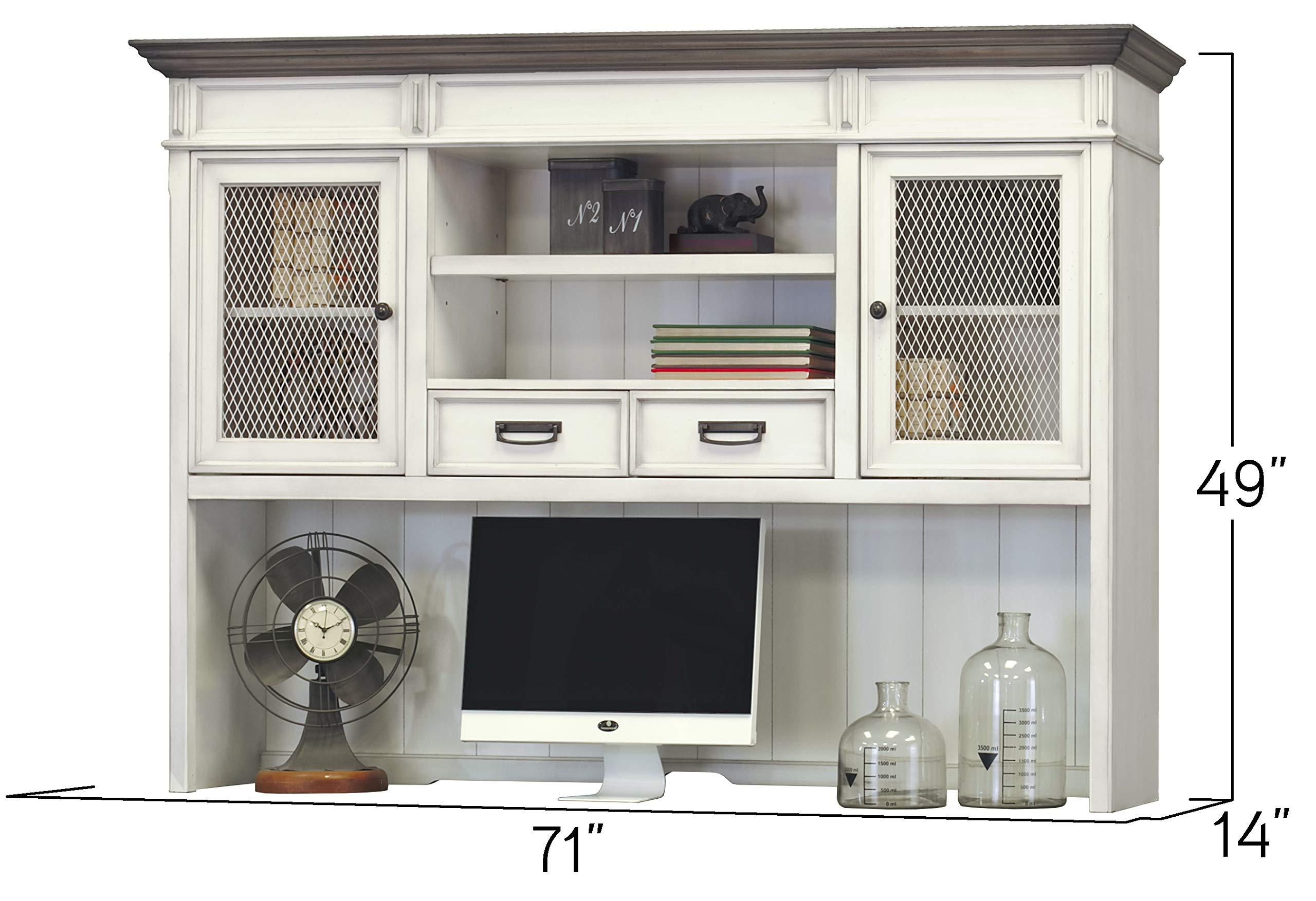 Martin Furniture Hutch, White by Martin Furniture