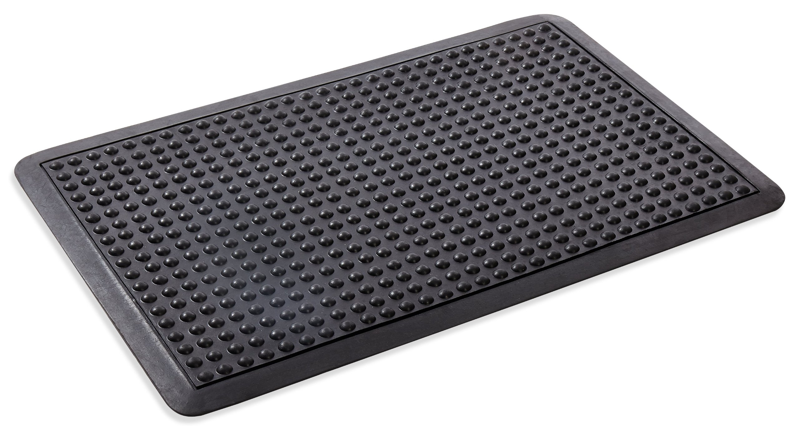 Kempf Anti Fatigue Bubble Surface Rubber Mat 2' X 3' by Kempf