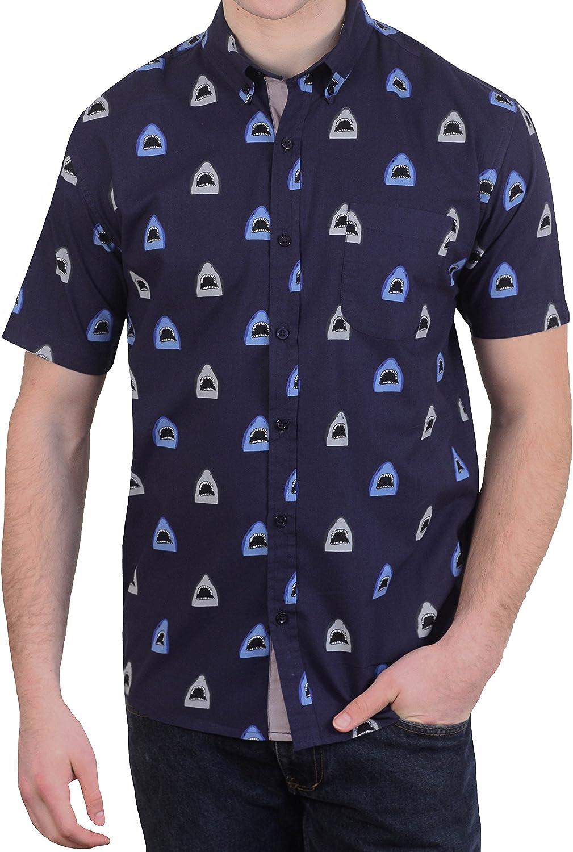 Alpha Beta Cotton Shark Mouth Hawaiian Shirt