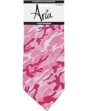 Aria Camo Bandanas for Dogs, Pink