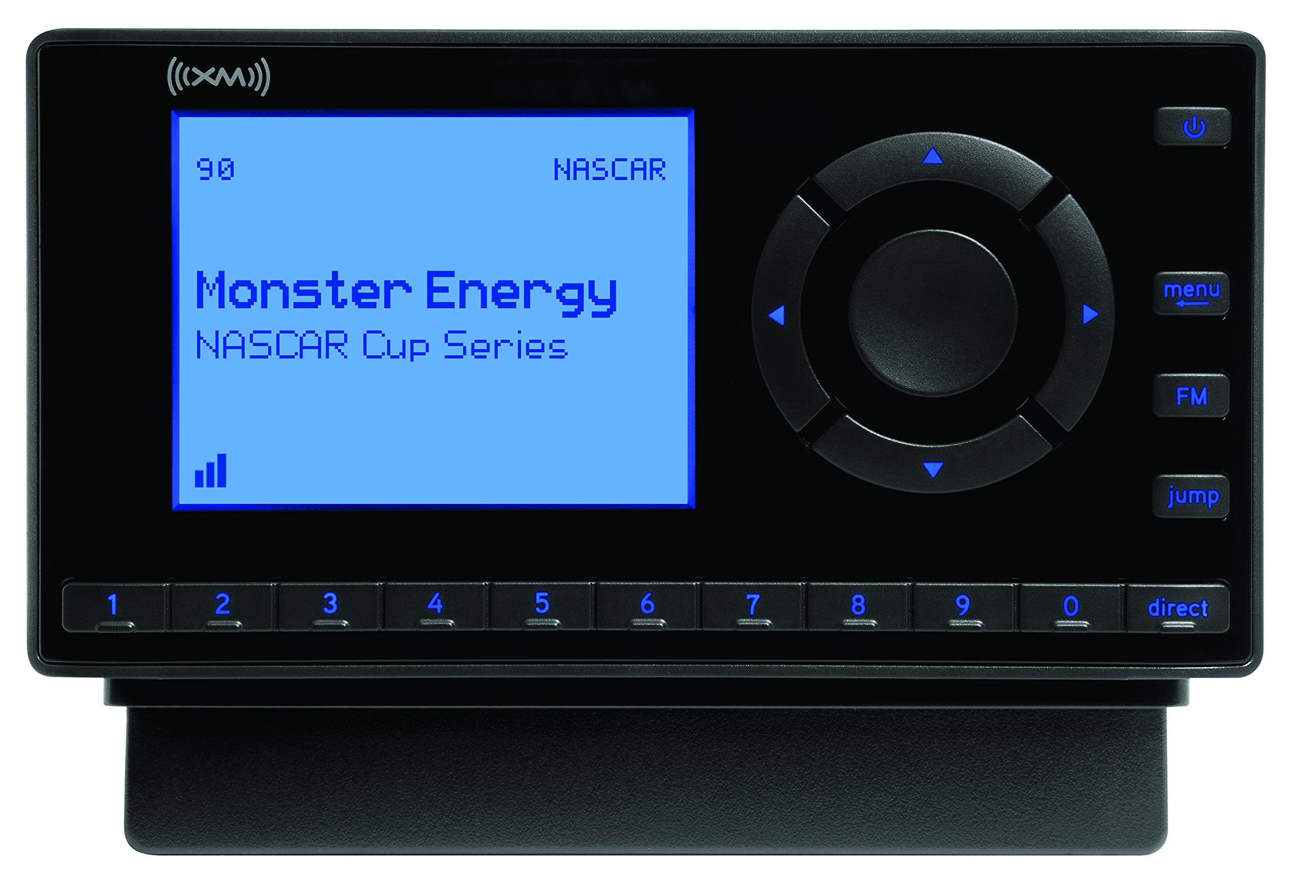 SiriusXM- XEZ1V1 Onyx EZ Satellite Radio with Vehicle Kit- Black by SiriusXM