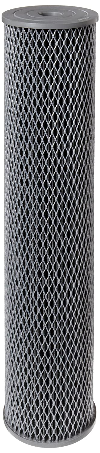 Pentek NCP-20BB Pleated Carbon-Impregnated Polyester Filter Cartridge, 20-Inch x 4-1/2-Inch, 10 Microns