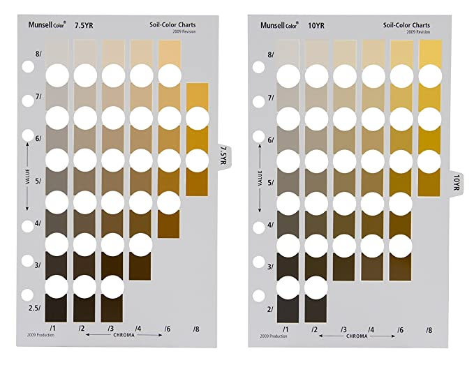 Amazon.com: Munsell Soil Book Of Color (M50215B): Home Improvement