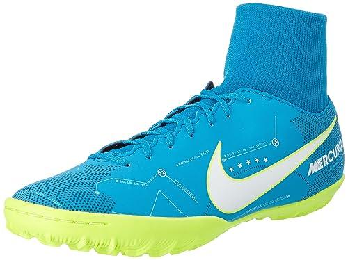 Nike Mercurial X Victory 6 DF Neymar TF 92151, Zapatillas de Fútbol para Hombre, Turquesa (Blue Orbit/White/Armory Navy/Volt), 45 EU: Amazon.es: Zapatos y ...