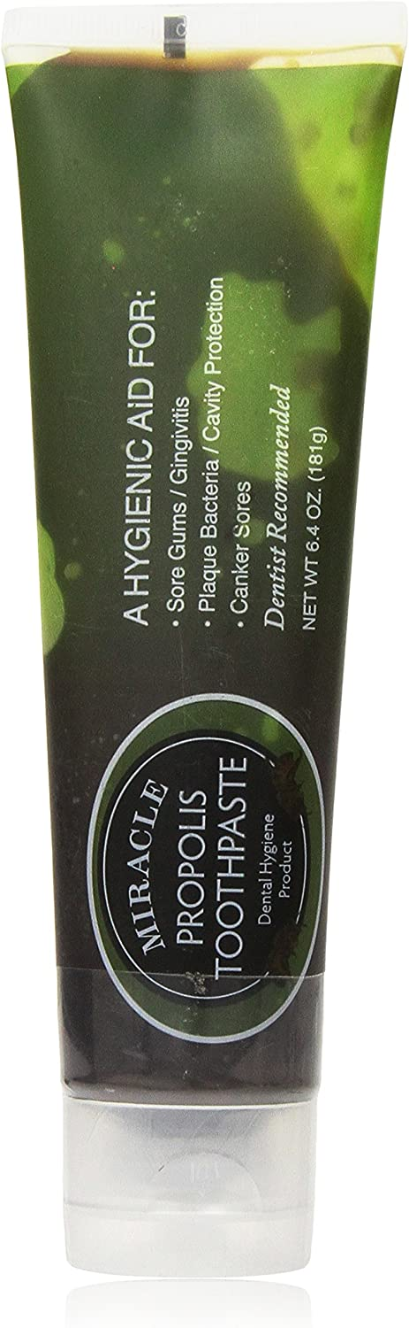Holocuren Miracle Pure Propolis Toothpaste 6.4 Ounce Tube