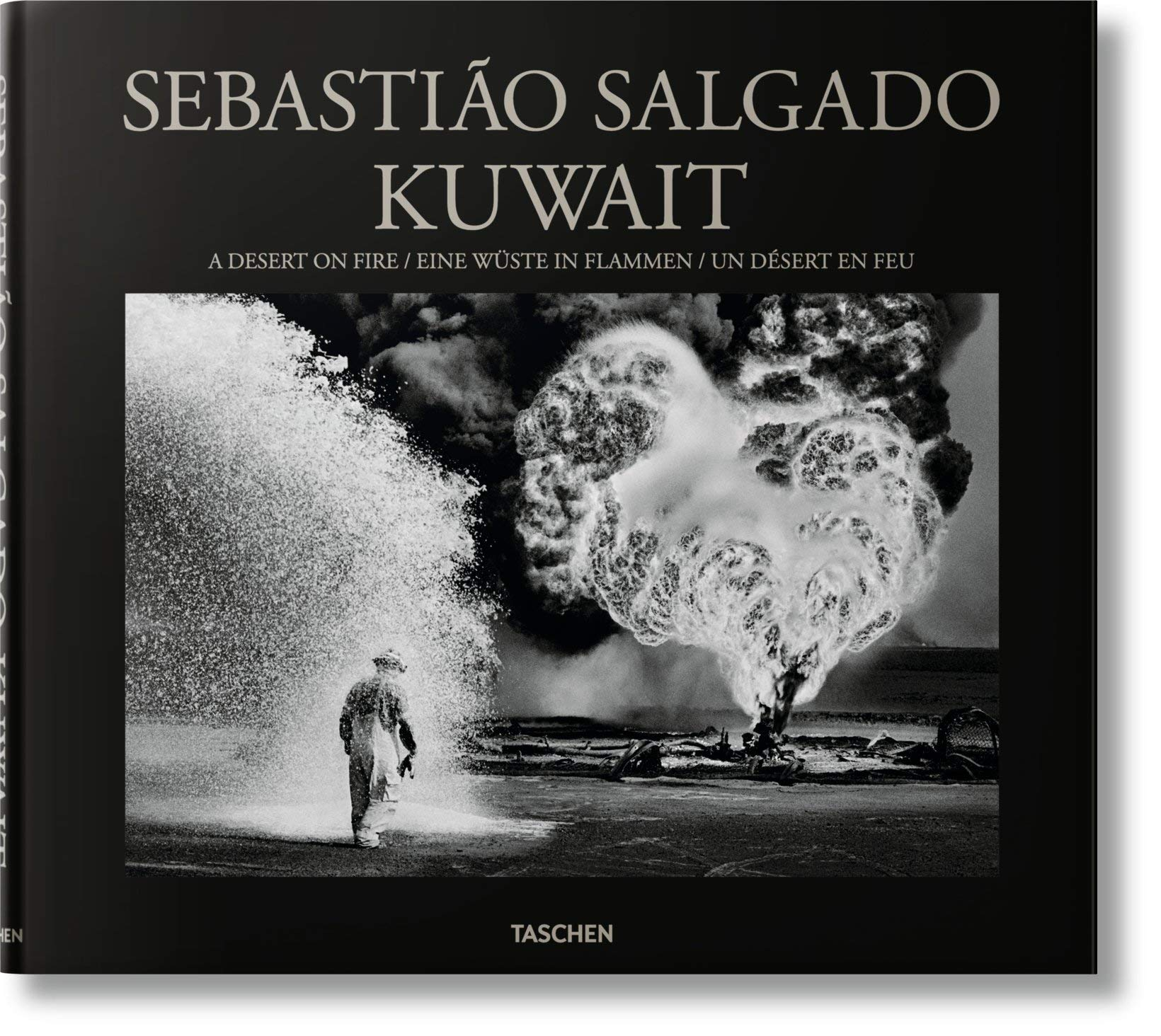 Fo Un Feu Salgado Desert Koweït Sebastiao En UMqjSzpVGL