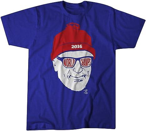 13d080a641b BreakingT MLB Chicago Cubs Men s Joe Maddon That World Champ Feeling Shirt