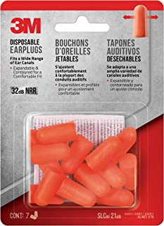 product image for 3M - 92077-7-20DC Safety Disposable Earplugs, 7-Pair (92077-80025T)