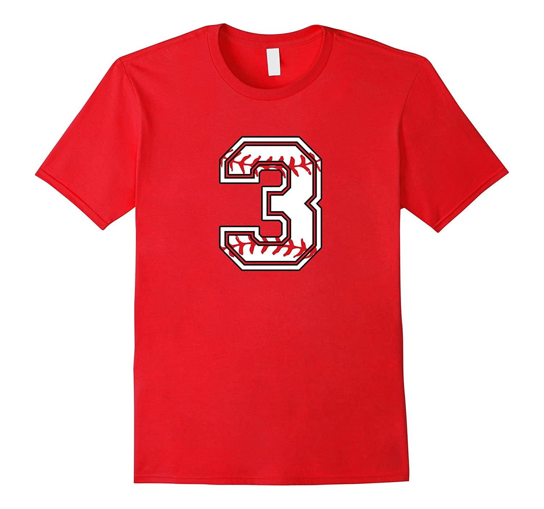Birthday Number T Shirt For 3 Years Old Kids Vaci Vaciuk