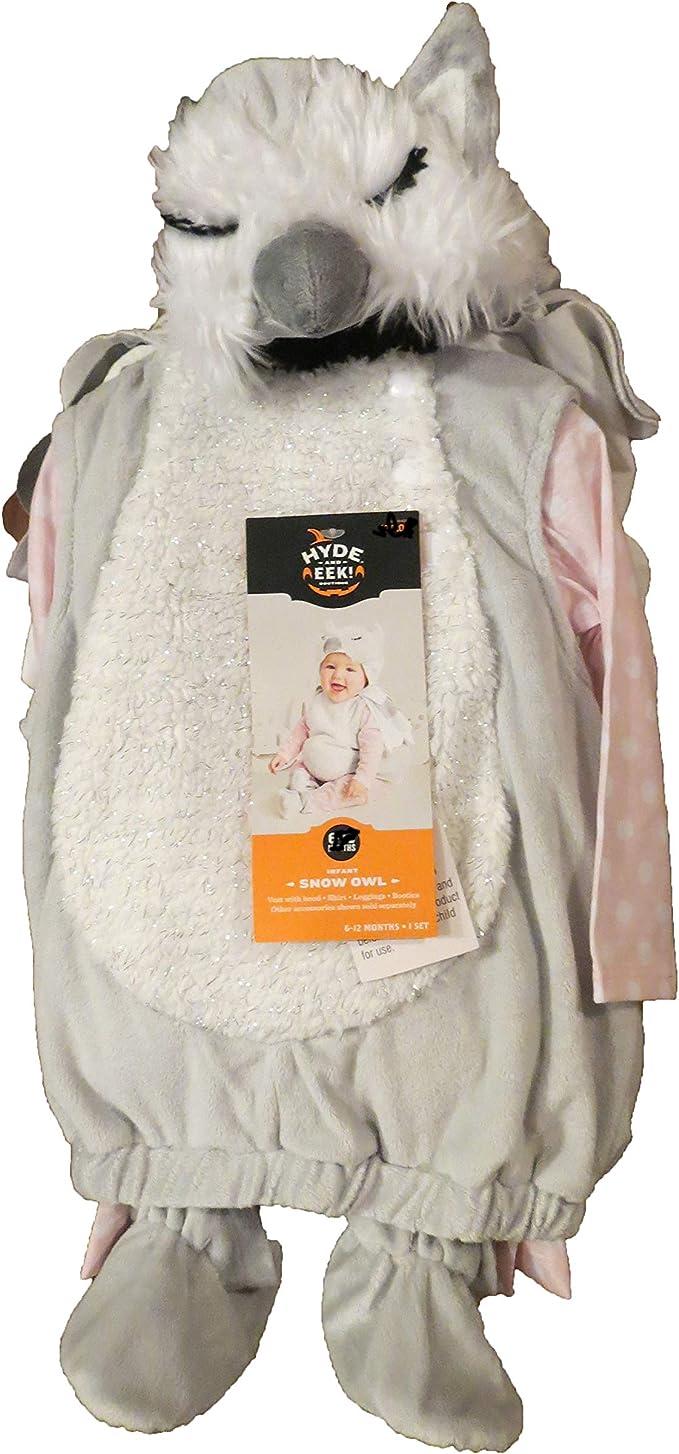 Target Hyde & Eek - Disfraz de búho de Nieve (6 a 12 Meses ...