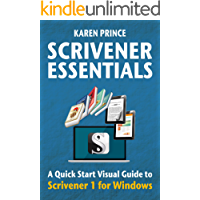 SCRIVENER ESSENTIALS: Scrivener 1 for Windows (Scrivener Quick Start Visual Guides) (English Edition)