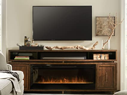 Hooker Furniture Big Sur 84u0026quot; Fireplace TV Stand ...