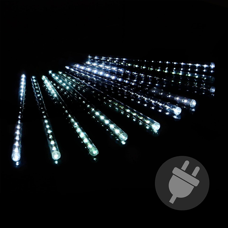 81tAug%2BFKyL._SL1500_ Schöne Led Eiszapfen Lichterkette Mit Schneefall Effekt Dekorationen