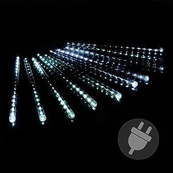 Ersatz Led Weihnachtsbeleuchtung.Lichterregen Meteorschauer 180 Led Lichterkette Meteor Effekt Partylicht Meteorlichter Weihnachtsbeleuchtung Partydeko Trafo Xmas