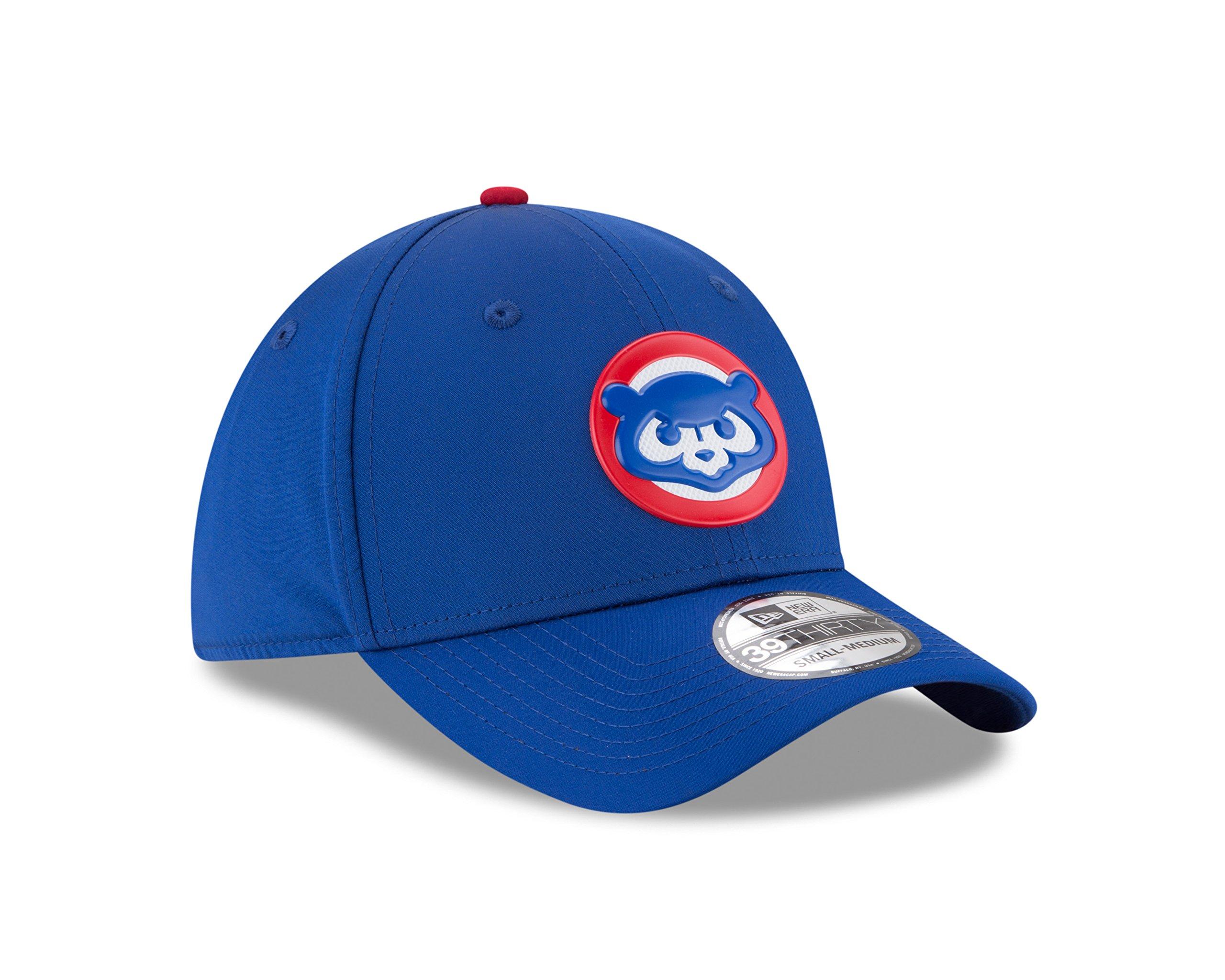 Chicago Cubs New Era 2018 On-Field Prolight Batting Practice 39THIRTY Flex Hat – ''Bear'' Logo (M/L)