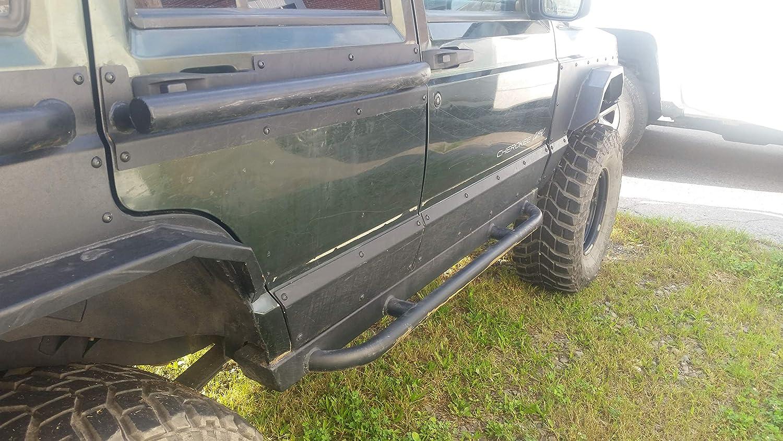 Affordable Offroad Lower Door and Side Panel Armor-Jeep Cherokee XJ 4-Door 1984-2001