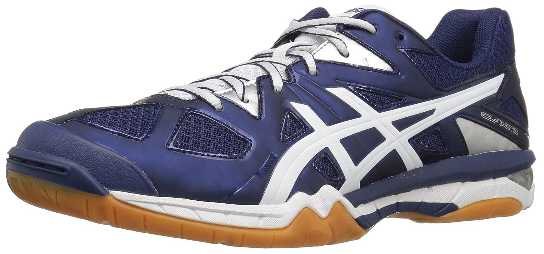 ASICS Women's Gel Tactic Volleyball Shoe B017X2FMAU 14 B(M) US|Estate Blue/White/Silver
