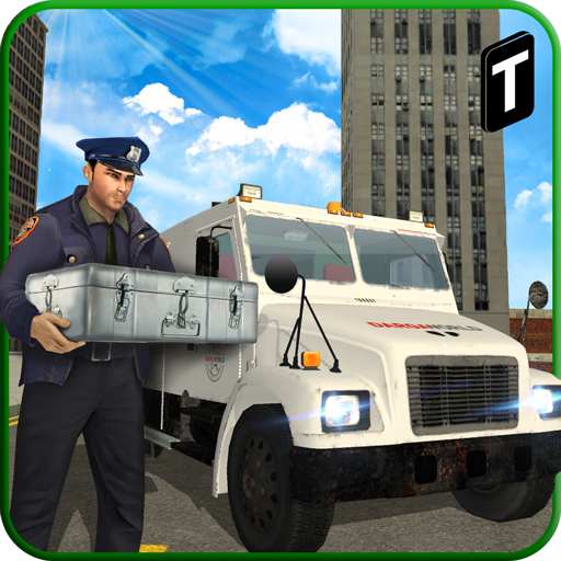 City Bank Cash In Transit Van Simulator