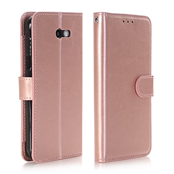 purchase cheap a36b3 3fbb1 Wallet Case J3 Prime Case Galaxy J3 Emerge Phone Case J3 Eclipse Stand Case  Leather+Rubber Durable Phone Cover with Card Holder Shockproof for Samsung  ...