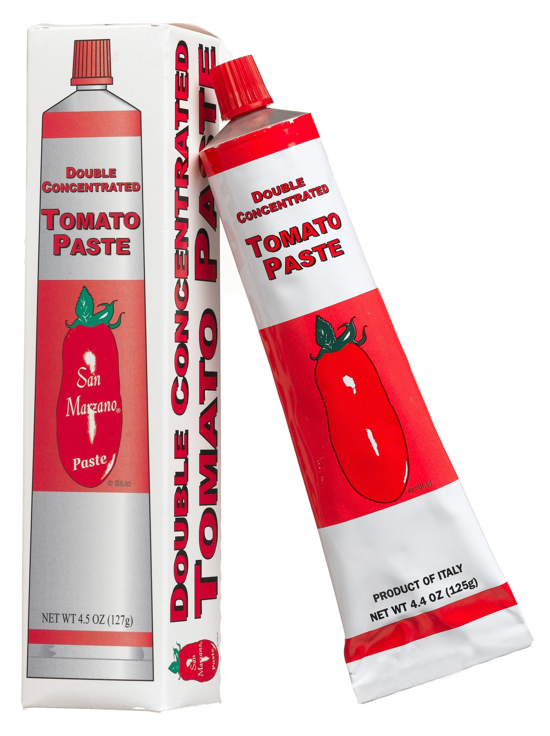 San Marzano, Tomato Paste In Tube, 4.4 oz