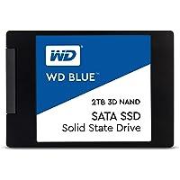 """WD Blue 3D NAND 4TB Internal PC SSD - SATA III 6 Gb/s, 2.5""""/7mm, Up to 560 MB/s - WDS400T2B0A"""