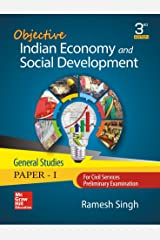 Objective Indian Economy and Social Development: For Civil Services/State Civil Services Preliminary Examination (General Studies: Paper - I) Paperback