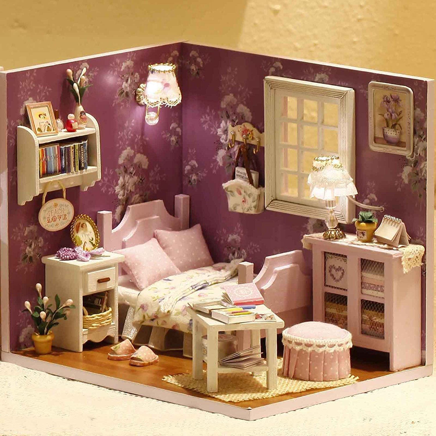 Buy Doll House  Sweet Sunshine Series Dollhouse Miniature Diy