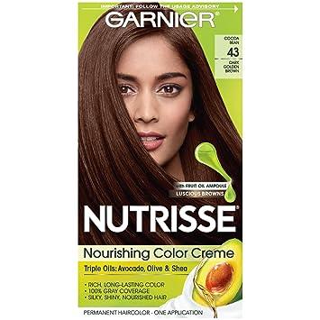 Amazon Com Garnier Nutrisse Nourishing Hair Color Creme 43 Dark