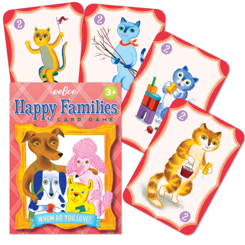 eeBoo- Cartas, Familias Felices (PCHAF): Amazon.es: Juguetes ...
