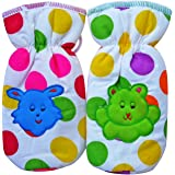 Littly Polka Dots Bottle Covers (Pack of 2, Multicolor)
