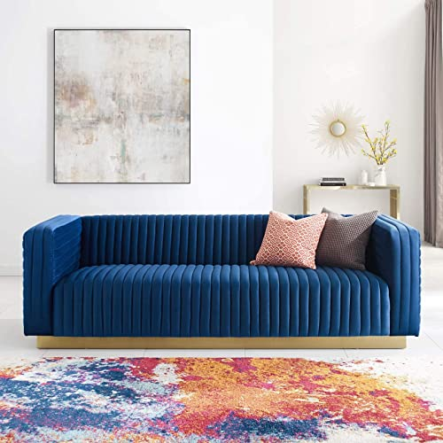 Modway Charisma Sectional, Navy