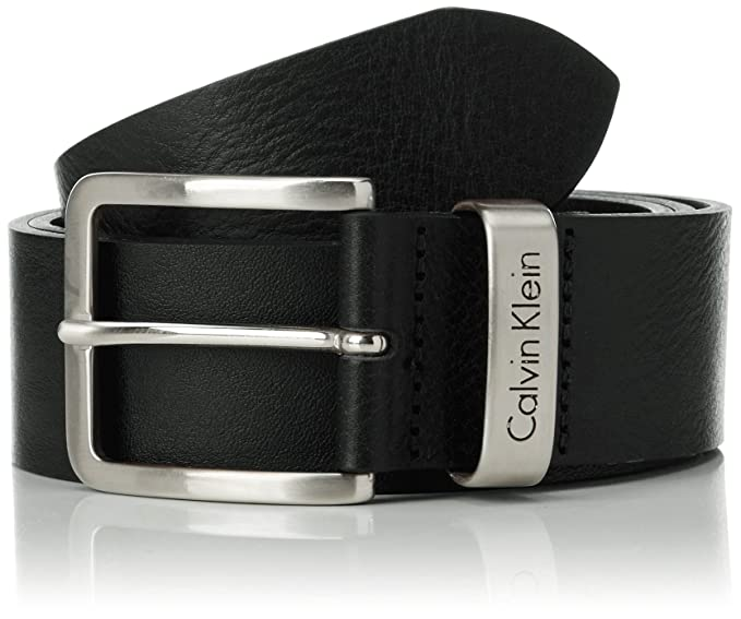 scarpe casual vendita scontata grande liquidazione Calvin Klein Jeans - Mino Belt 1, cintura Uomo, Black, 80 cm ...