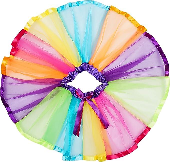 Redstar Fancy Dress - Tutú Infantil - para niñas de 5 a 8 años ...