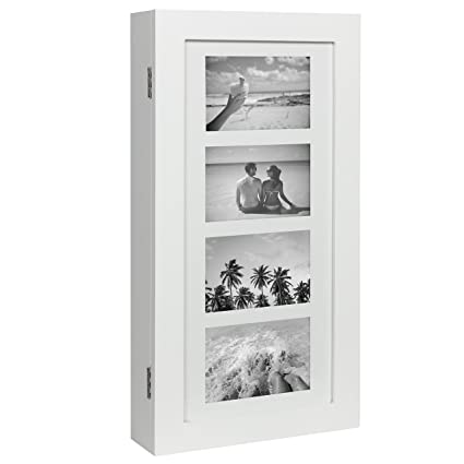 Amazon.com: Best Choice Products Wall Mounted Jewelry Armoire ...