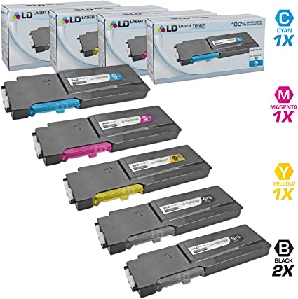 4PK NON-OEM Xerox Toner For Phaser 6600 6600DN WorkCentre 6605 6605DN HIGH YIELD