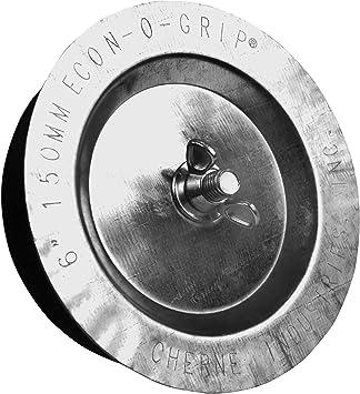 Cherne 271578 Econ-O-Grip Mechanical Test Plug, 6