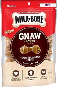Milk-Bone Gnawbones Dog Treats, Long Lasting