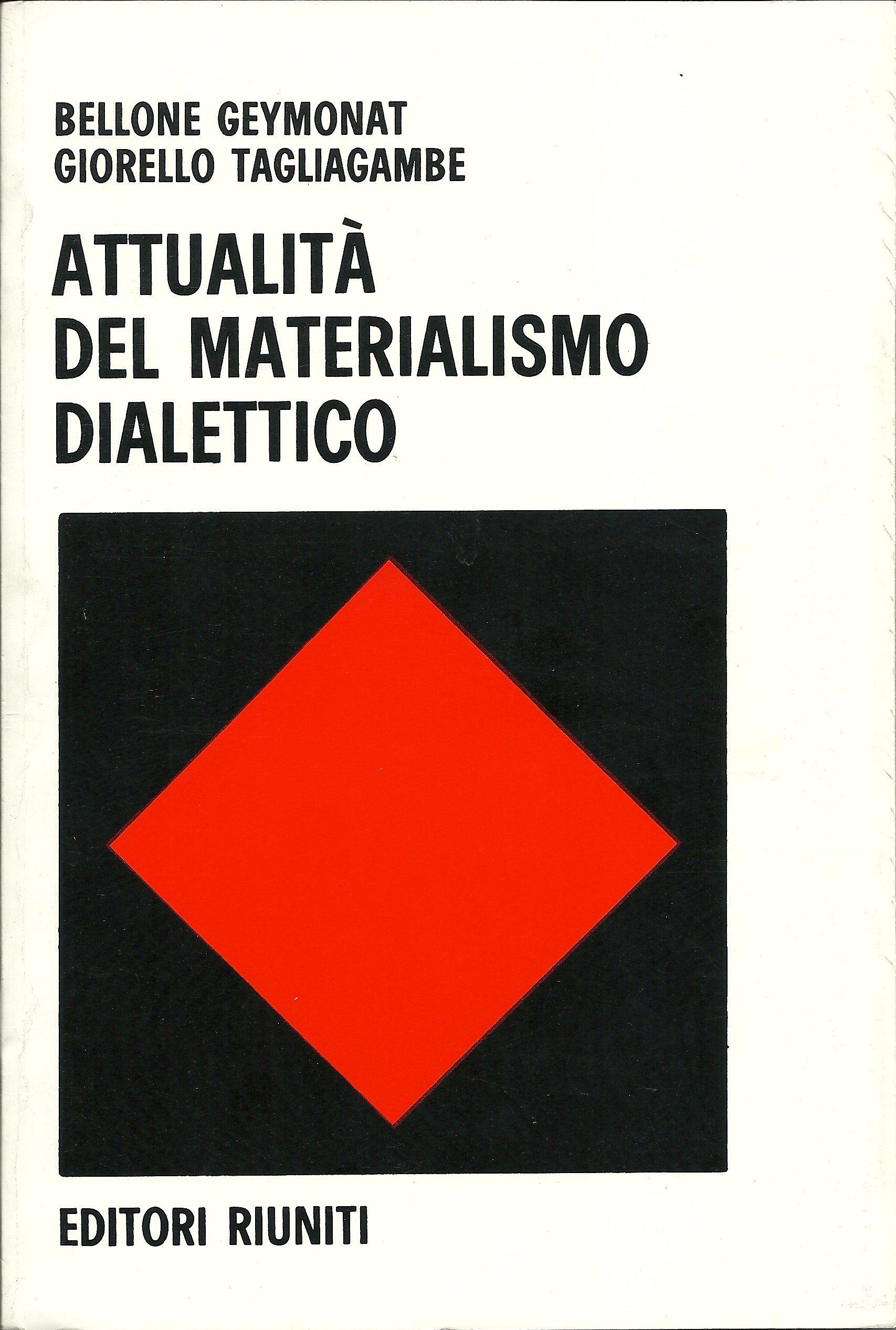 Risultati immagini per attualità del materialismo dialettico
