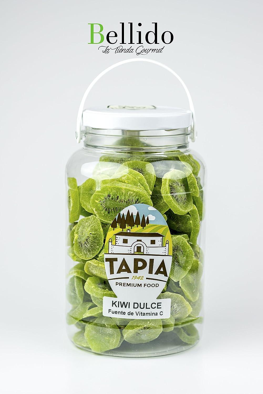 Frutos secos y frutas deshidratadas premium food Casa Tapia, producto excepcional desde 1942, varios formatos. Envío GRATIS 24h. (Kiwi deshidratado, Tarro 1 ...