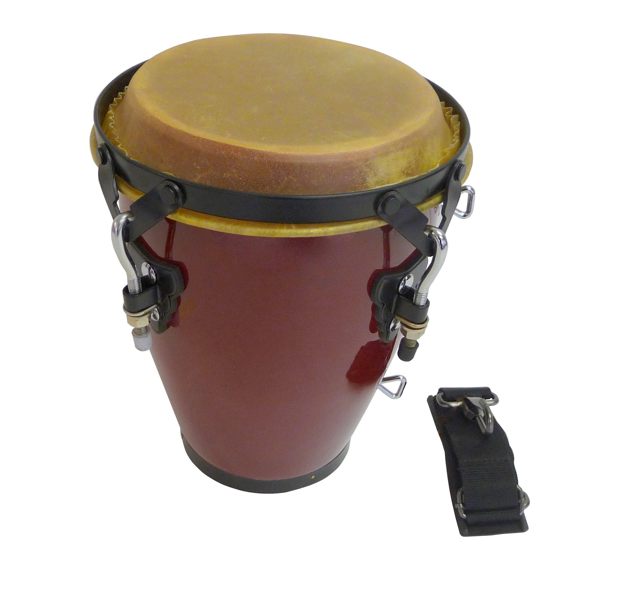 Suzuki Musical Instrument Corporation CG-10 7-Inch Tunable Conga with Strap