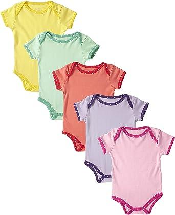Essentials 6-Pack Short-Sleeve Bodysuit Unisex beb/é