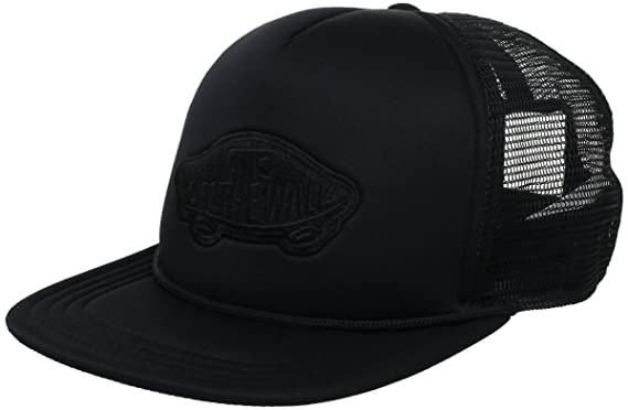 Vans Mens Classic Patch Trucker, Black, One Size
