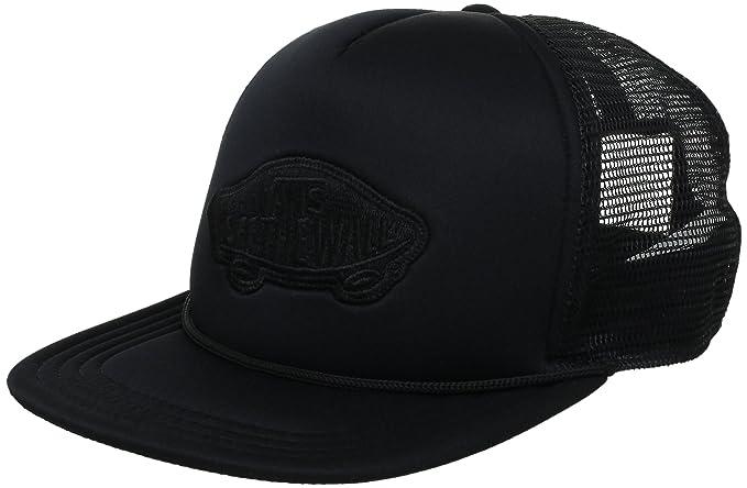 95876870456 vans classic patch trucker hat - black  Amazon.in  Clothing ...