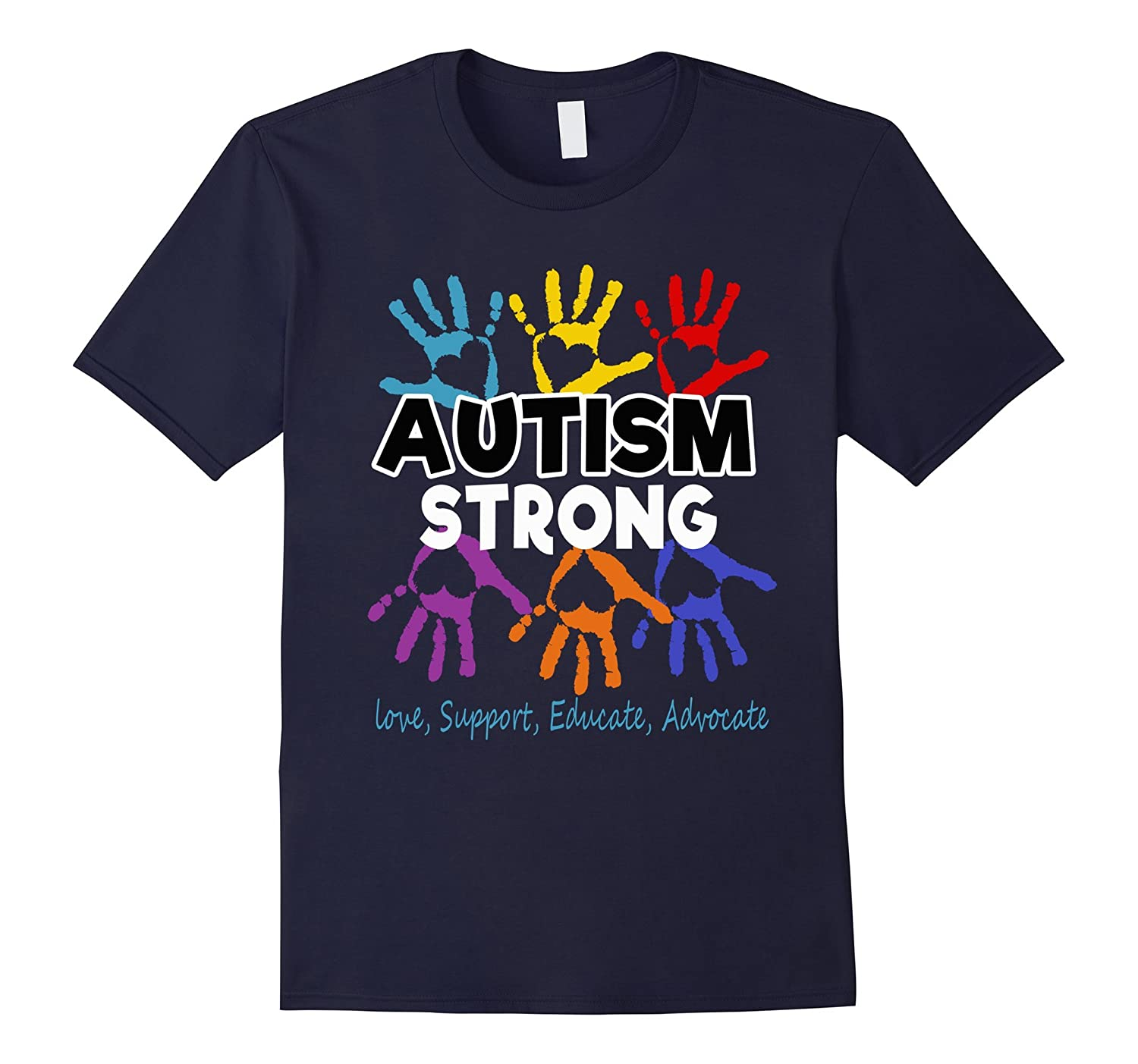 Autism Awareness T shirt For Mom / Dad/ Kid - Autism Strong-BN