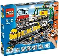 ENGINE WAG Lego RC PF Eisenbahn TRAIN 3677 SET Güterzug Lok Waggon