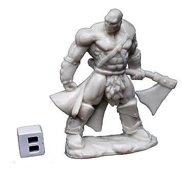 Reaper 77047: Goldar, Male Barbarian - Dark Heaven Bones Plastic Miniature