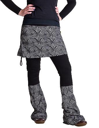 1a281ad56d23 Vishes – Alternative Bekleidung – Rock- Schlag- Hosen Kombination – Lange  Größe