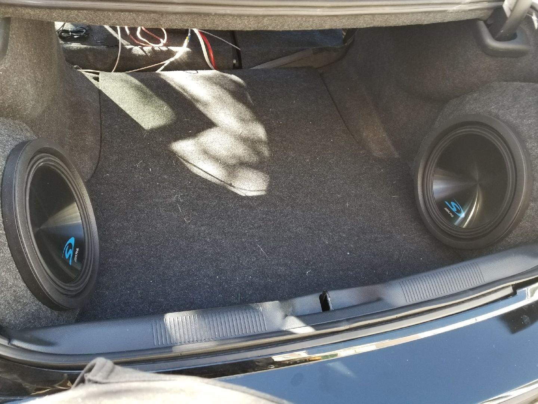 Ntense Auto Werks Charger 300 Custom Fiberglass Sub Box