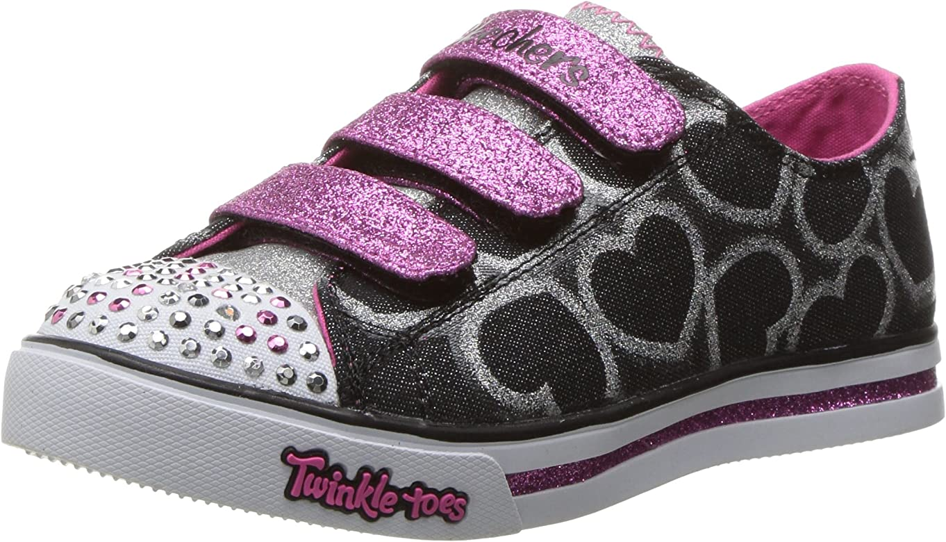 super cheap new cheap popular stores Skechers Little Kid (4-8 Years) Twinkle Toes: Chit Chat ...